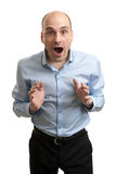 Shocked Businessman Stock Photo