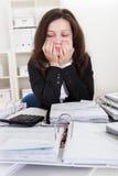 Shocked businesswoman Stock Photos