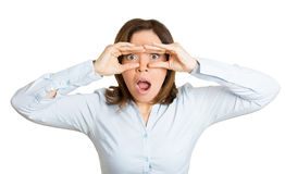 Shocked Royalty Free Stock Photos