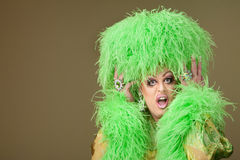 Shocked Drag Queen Stock Photography