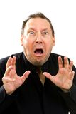 Shocked Fearful Man Stock Photography