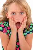 Shocked Girl Royalty Free Stock Image