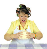 Shocked Housewife Stock Images