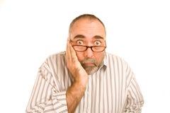 Shocked Man Stock Image