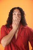 Shocked Man Royalty Free Stock Photos