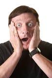 Shocked Man Royalty Free Stock Images