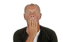 Shocked man Royalty Free Stock Photography