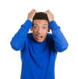 Shocked man Stock Photos