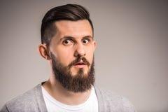Shocked man Stock Photography
