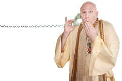 Shocked Monk Stock Photos