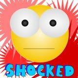 Shocked O_O Royalty Free Stock Photos