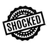 Shocked rubber stamp Stock Image