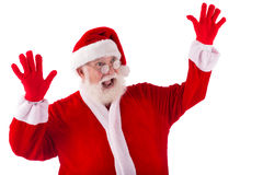 Shocked Santa Royalty Free Stock Photo