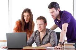 Shocked students Royalty Free Stock Photos