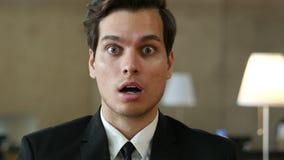 Shocked, Surprised Man Portrait