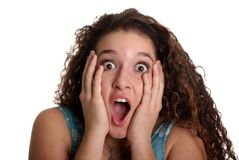 Free Shocked Teen Stock Photography - 1676162