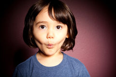 Shocked Toddler Boy Stock Image