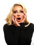 Shocked woman Stock Photos