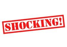 SHOCKING! Royalty Free Stock Images