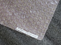 Shockproof material - Air Bubble Sheet Stock Images