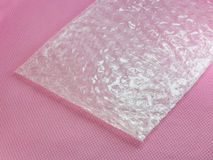 Shockproof material - Air Bubble Sheet Stock Photo