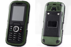 Shockproof Mobile Phone Stock Photography