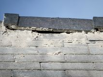 Free Shoddy Roofing Work By Rouge Trader, Cowboy Builder. Detail. Stock Photo - 125349410