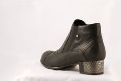 Shoe. Closeup of woman fashion boot Royalty Free Stock Photography