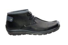 Shoe. Fashion men boot. Cut on a white background Royalty Free Stock Photos