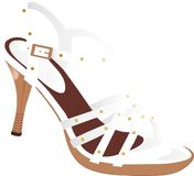 Shoe. A shoe for a woman Stock Image