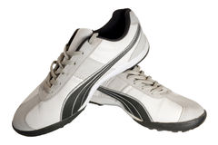 Shoe. Sporting shoe of running shoe for going in for sports Stock Image