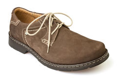 Shoe brown Stock Image