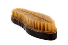 Shoe brush isolated Royalty Free Stock Photography