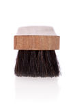 Shoe brush. Isolated on a white background Stock Image