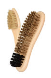Shoe brushes Stock Images