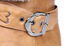 Shoe buckle Royalty Free Stock Photos