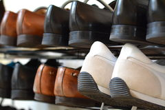 Shoe cabinet Royalty Free Stock Images
