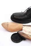 Shoe care Royalty Free Stock Photography