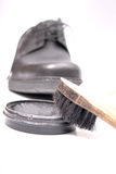 Shoe care Royalty Free Stock Images