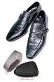 Shoe care Stock Images
