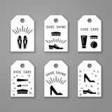 Shoe care elements Stock Photo