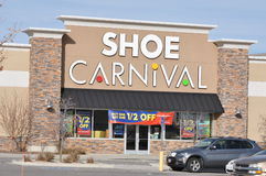 Shoe Carnival store Royalty Free Stock Image