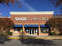 Shoe Carnival store Royalty Free Stock Photography