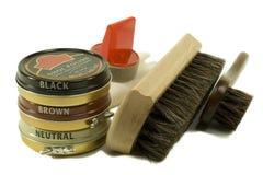Free Shoe Cleaning And Polish Set Stock Photo - 1645710
