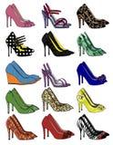 Shoe Collection II Stock Photo