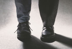 Shoe combination Royalty Free Stock Photo
