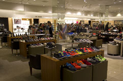 Shoe department store Stock Photos