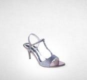 Shoe or female fashion sandal on background. Stock Photo