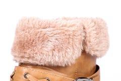Shoe fur Royalty Free Stock Image