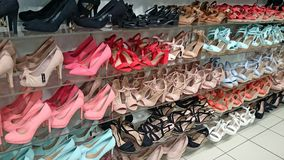 Shoe heaven Royalty Free Stock Image
